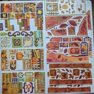 SOLD Fall Autumn scrapbook